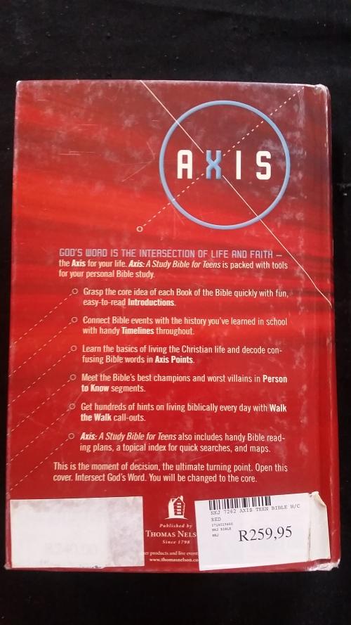 Axis teen bible